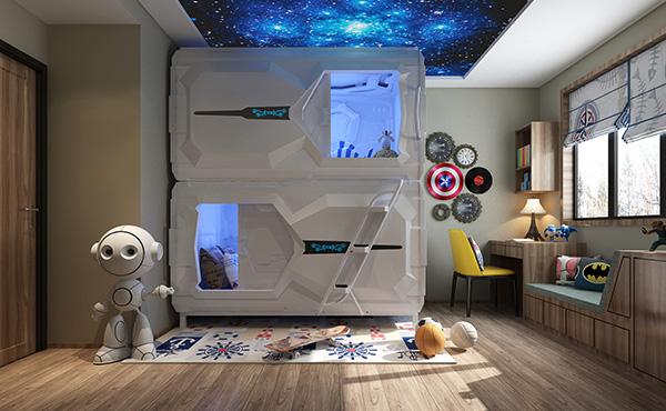 Shenzhen Spaceship Family Apartment