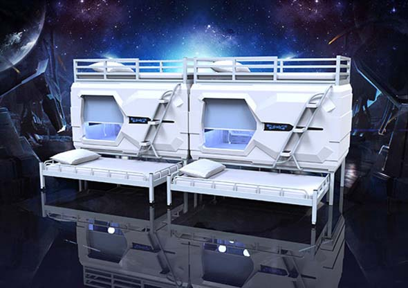 Technology Capsule Bed