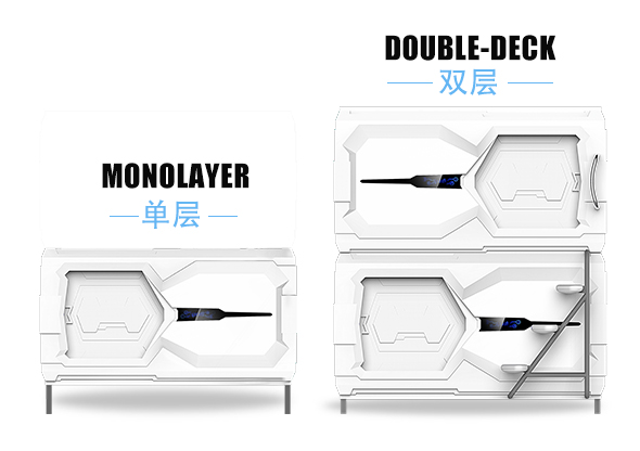 Technology Horizontal Single Capsule Bed High With